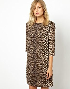 251750366129 Shift Dress In Animal Print | Wanty McWanterson | Animal print ...