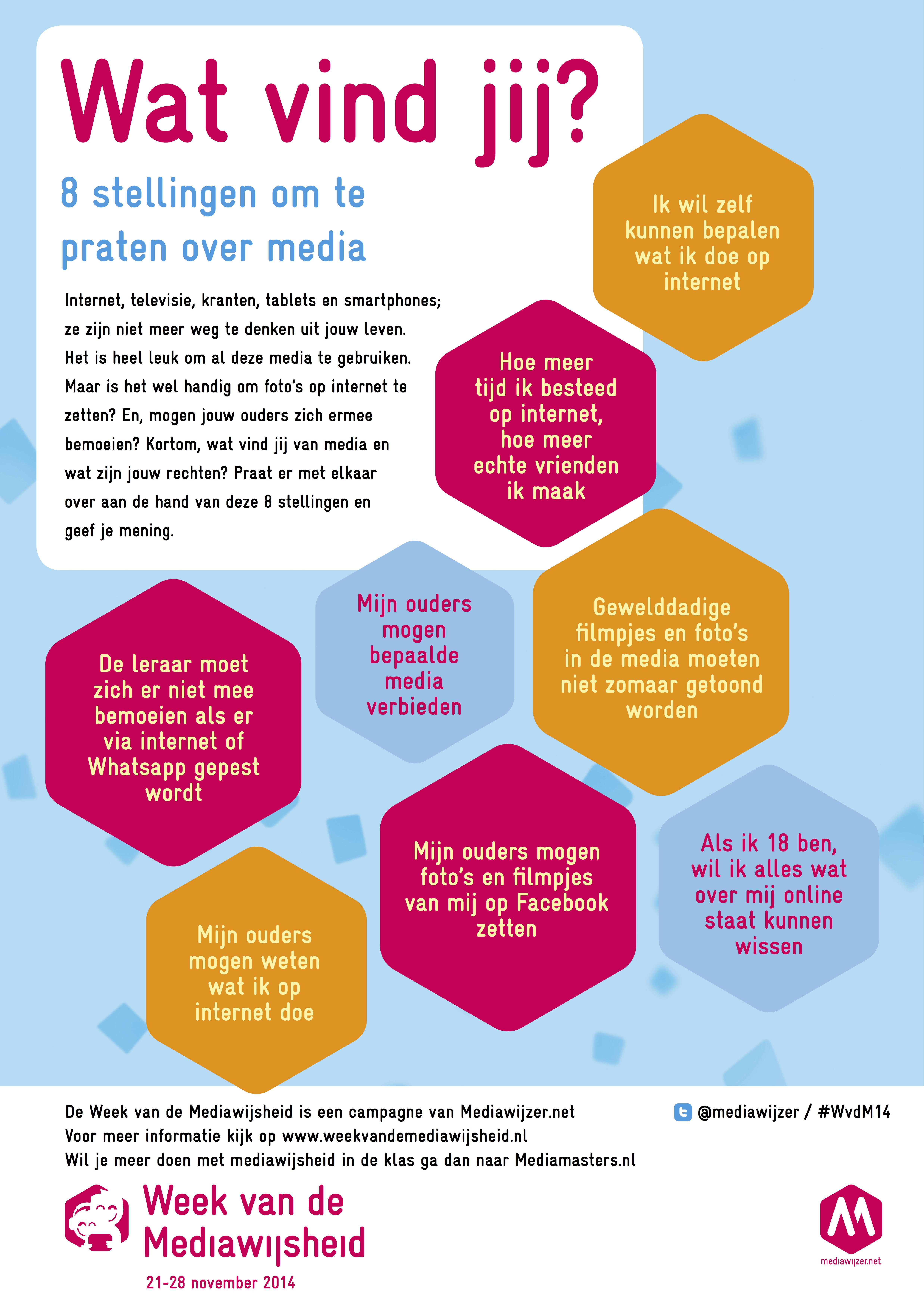 8 Stellingen Om Te Praten Over Media In De Klas Of Thuis Week Van