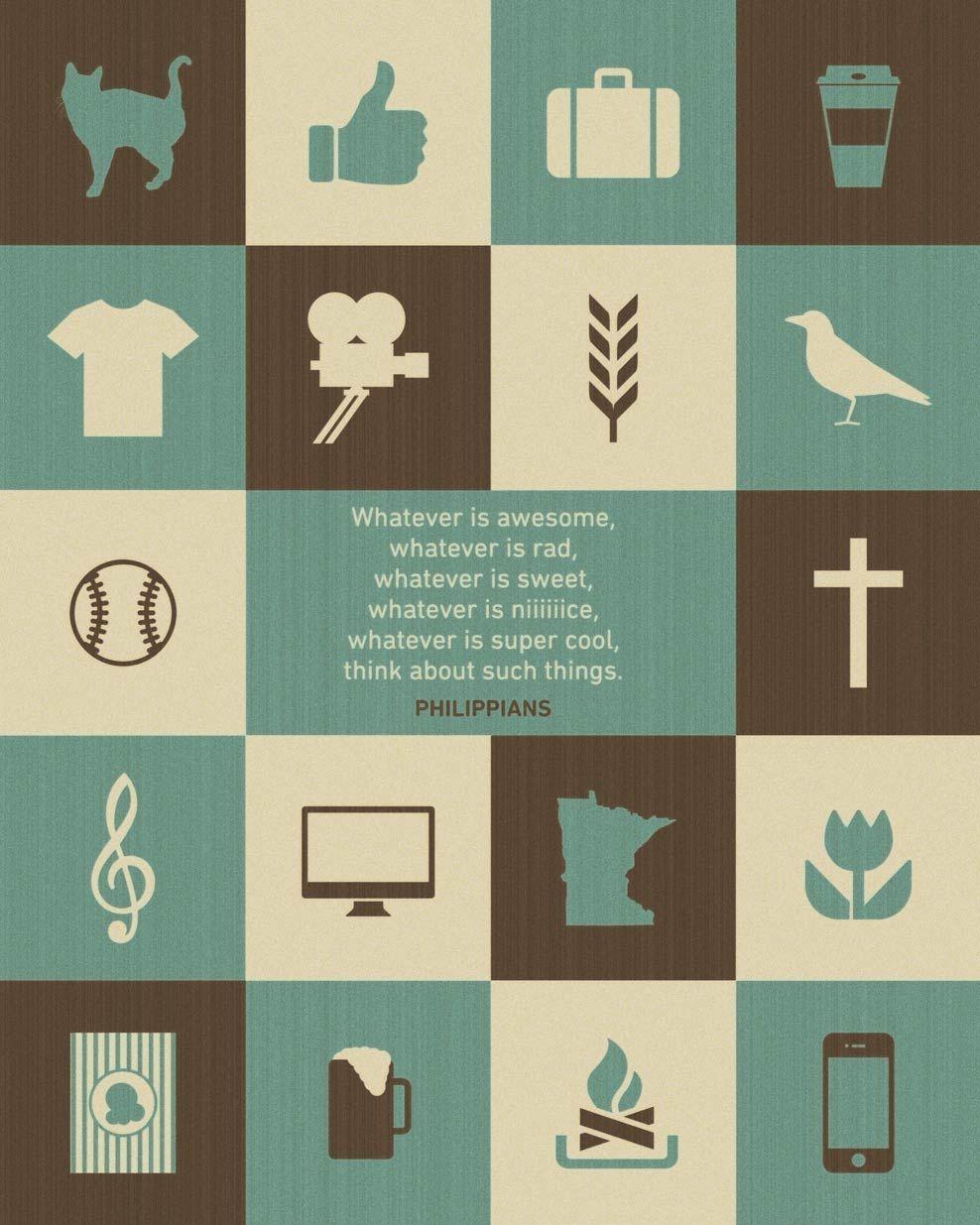 Word Philippians Bible art, Book of philippians, Prints