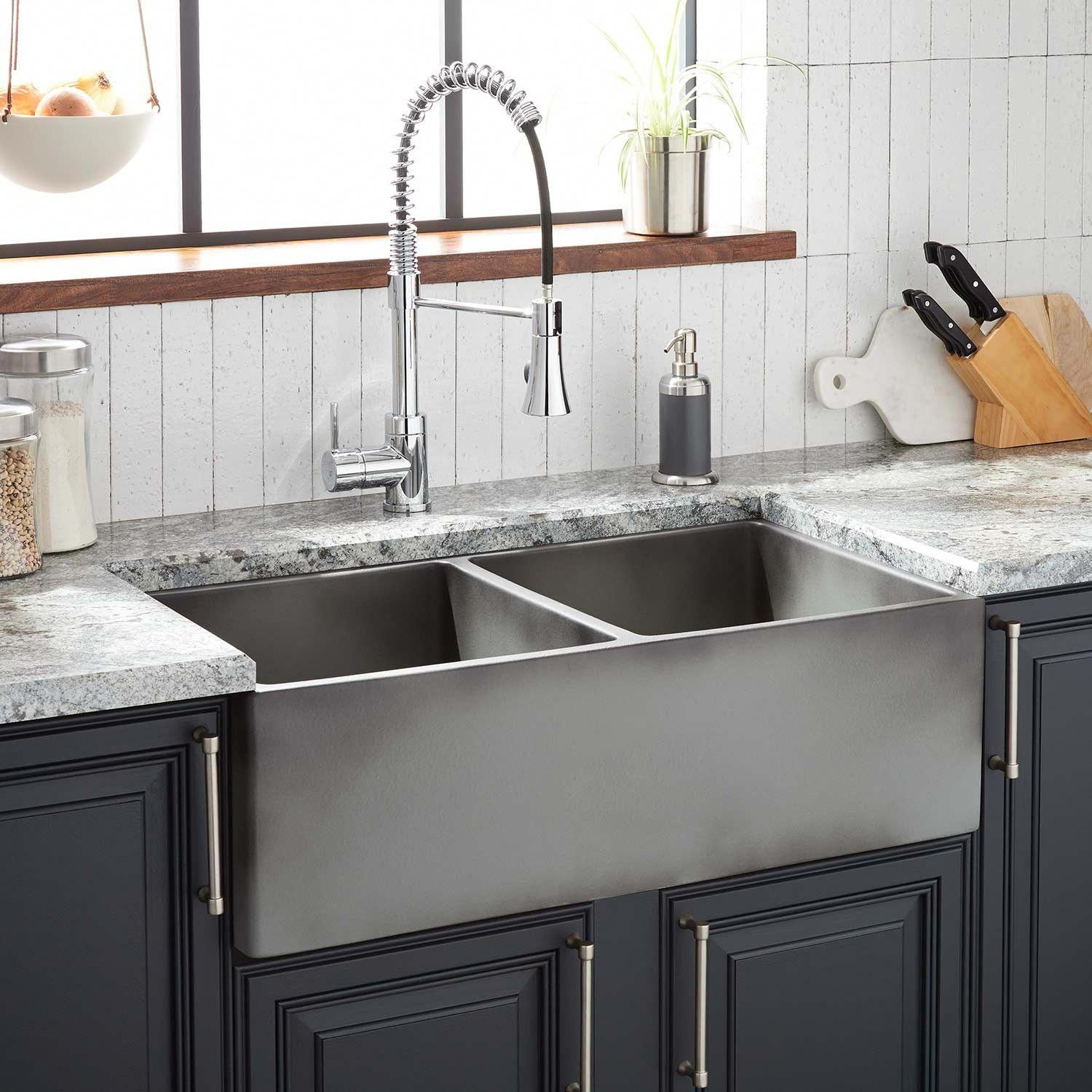 Decoration Selection Life In Purple Fireclay Farmhouse Sink Farmhouse Sink Kitchen Remodel