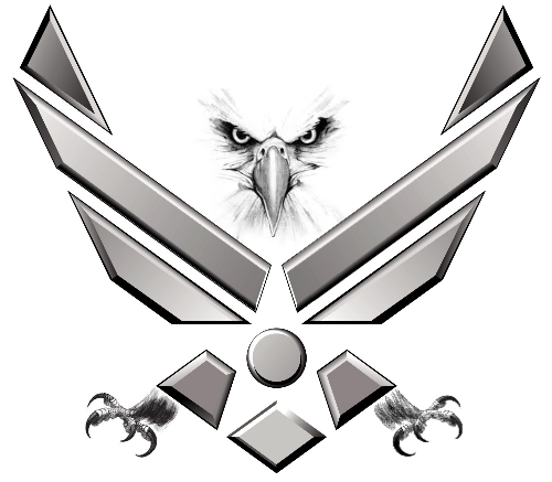 air force symbol tattoo thread help with patriotic tattoo rh pinterest com Air Force Eagle Tattoo Traditional Air Force Tattoos
