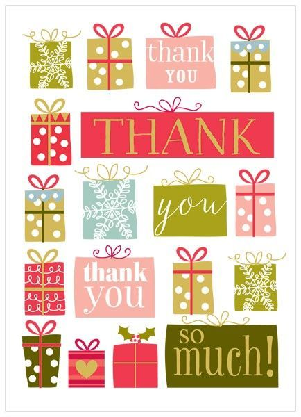 Christmas Thank You Cards  Ny