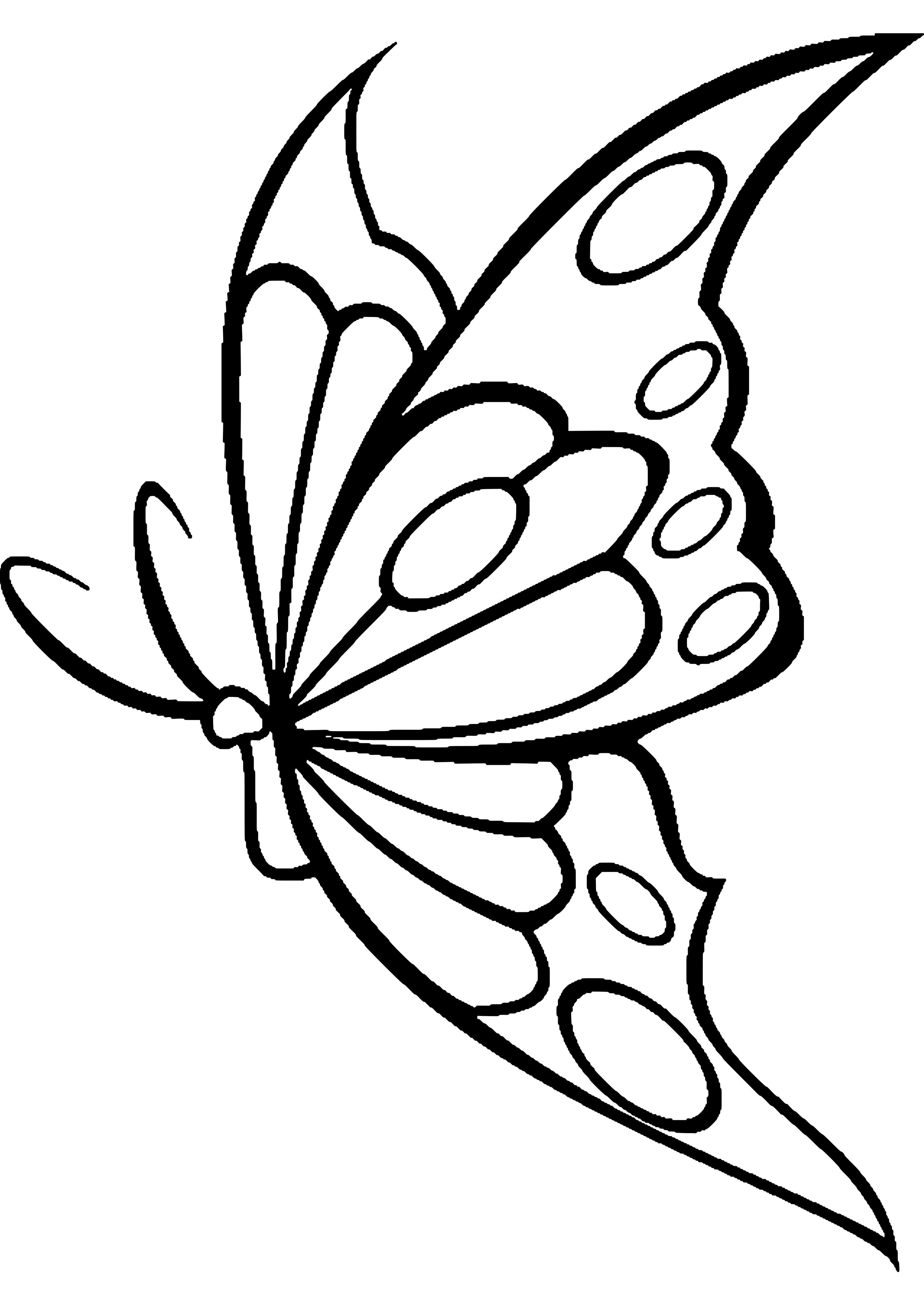 Mariposas Para Colorear O Dibujar Mariposas Para Colorear