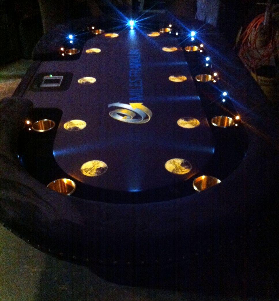 Wooden roulette buy black wooden roulette blackjack table led - Bright Led S Custom Felt Automatic Shuffler