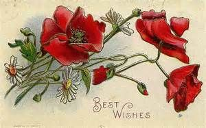 vintage card wishes