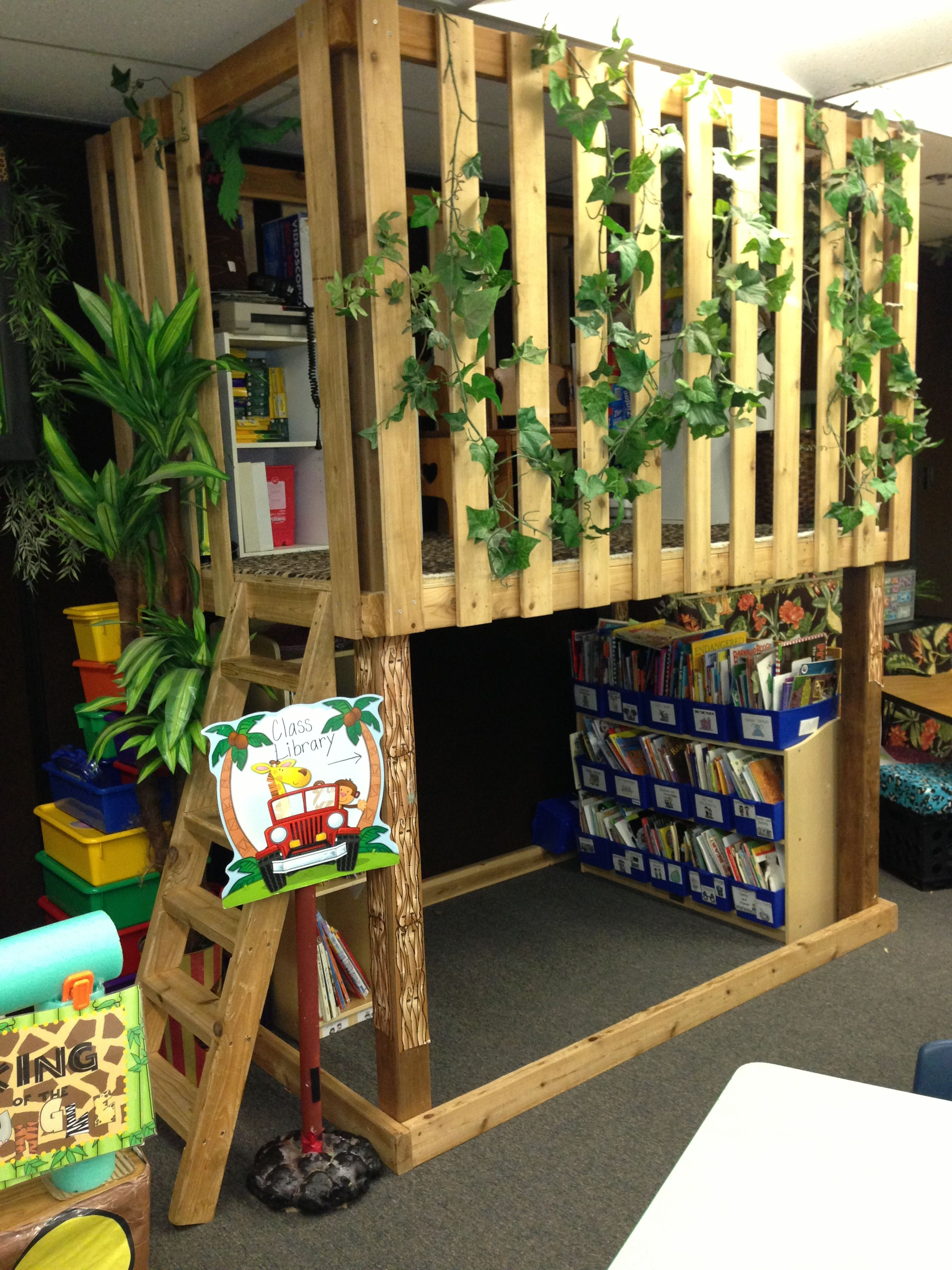 Jungle Classroom Library Brittany S Response I Just Love This Classroom Library I Would Love