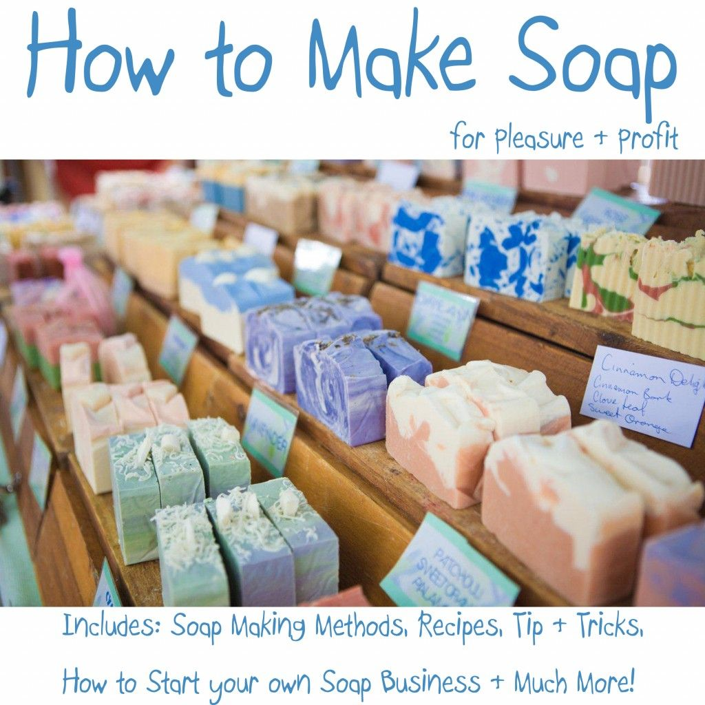 How To Make Your Own Soap Soap making kits, Diy soap