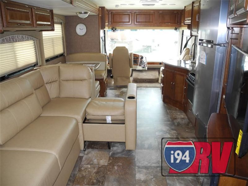 Coachmen Mirada 35LS Class A Motorhome RV Interior