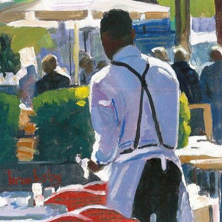 L'oeuvre unique et originale Parisian Waiter a été réalisée par l'artiste Angie…
