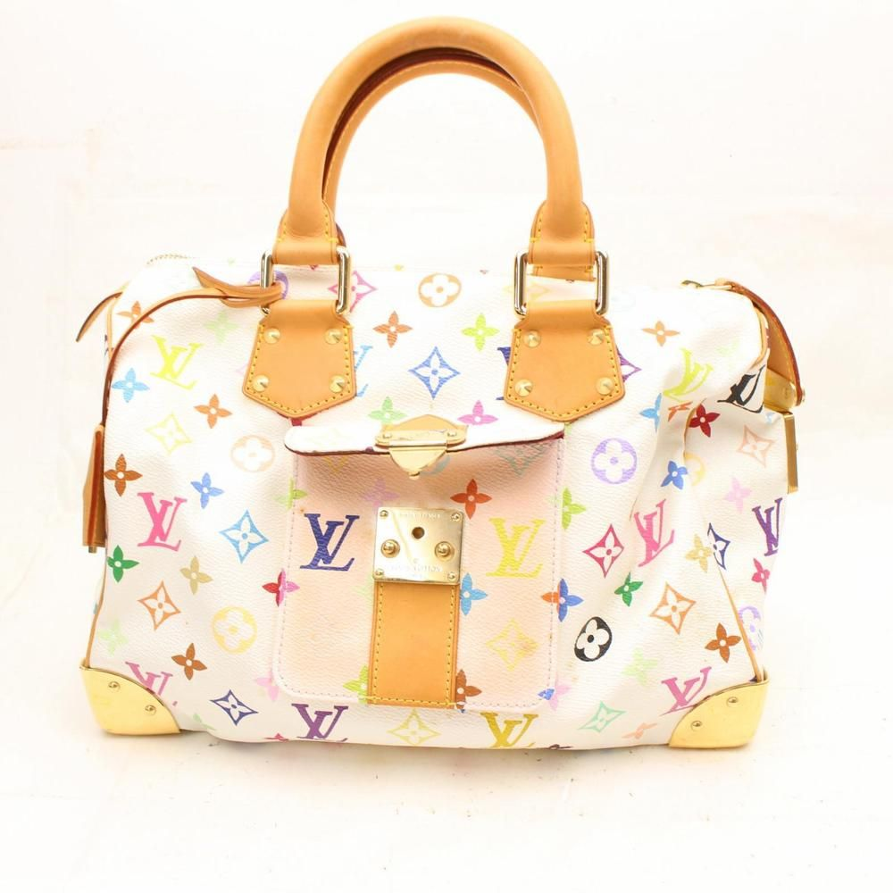 Authentic Louis Vuitton Hand Bag Speedy 30 Blanc M92643 183958  fashion   clothing  shoes  accessories  womensbagshandbags (ebay link) 7adcfa745ff