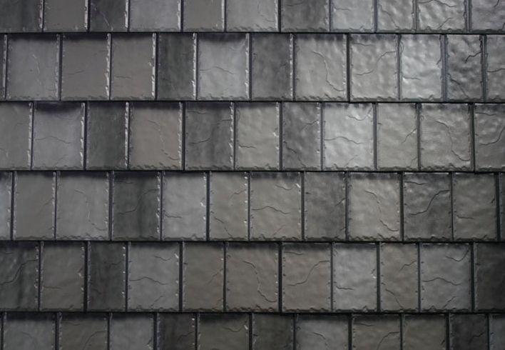 Arrowline Enhanced Slate Enhanced Metal Slate Roofing