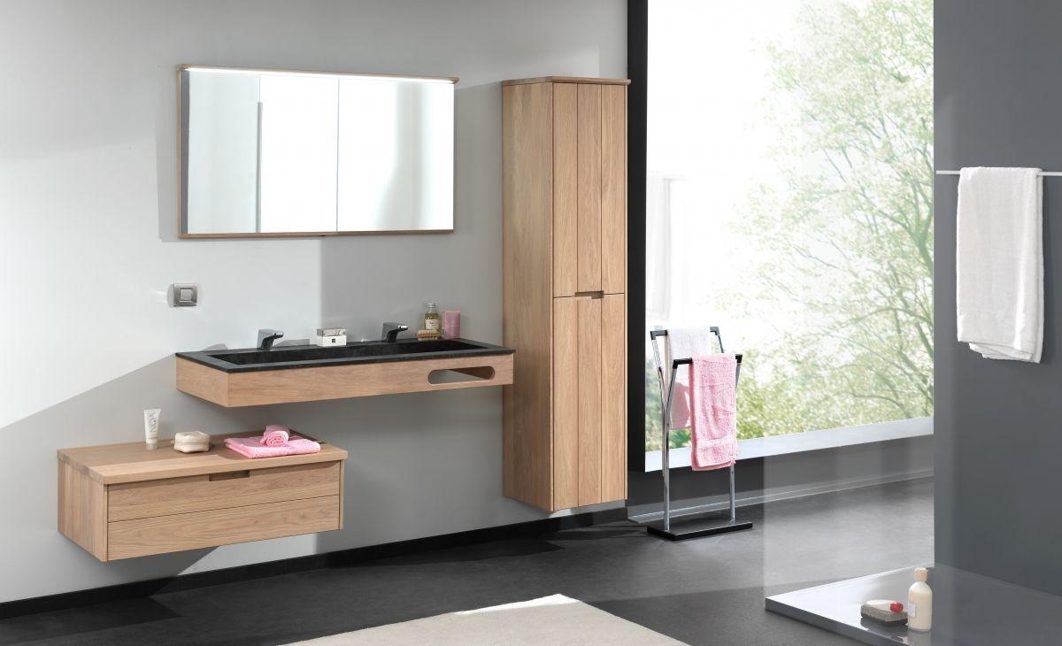 Kolomkast Badkamer Zwart : Zwevende badkamermeubels margaux met wastafel in zwart