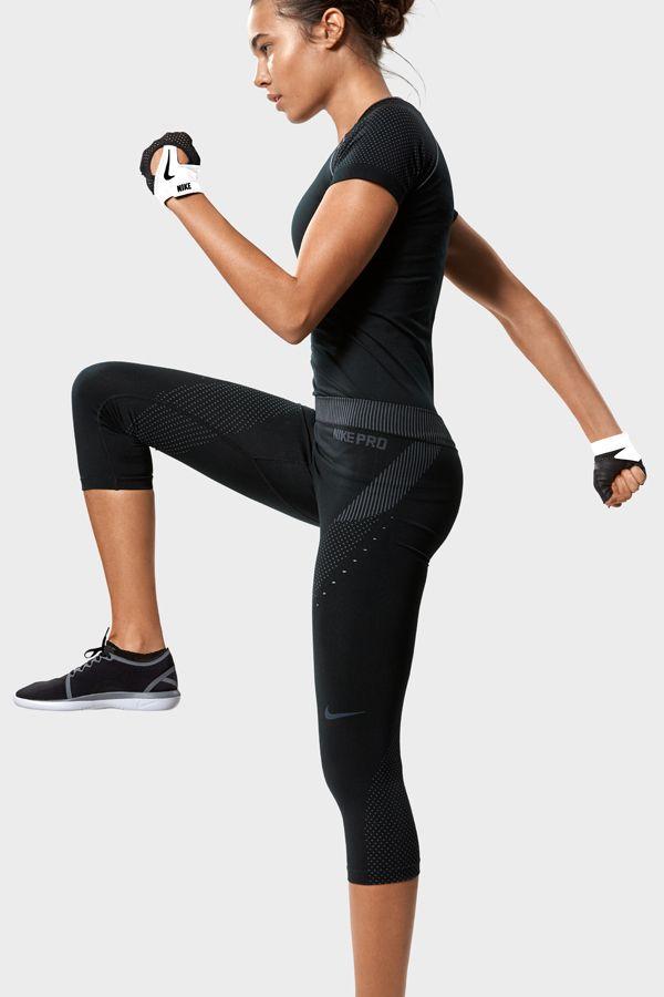 Irma Rebecca on   Gym outfits   Fitness fashion, Nike, Sport