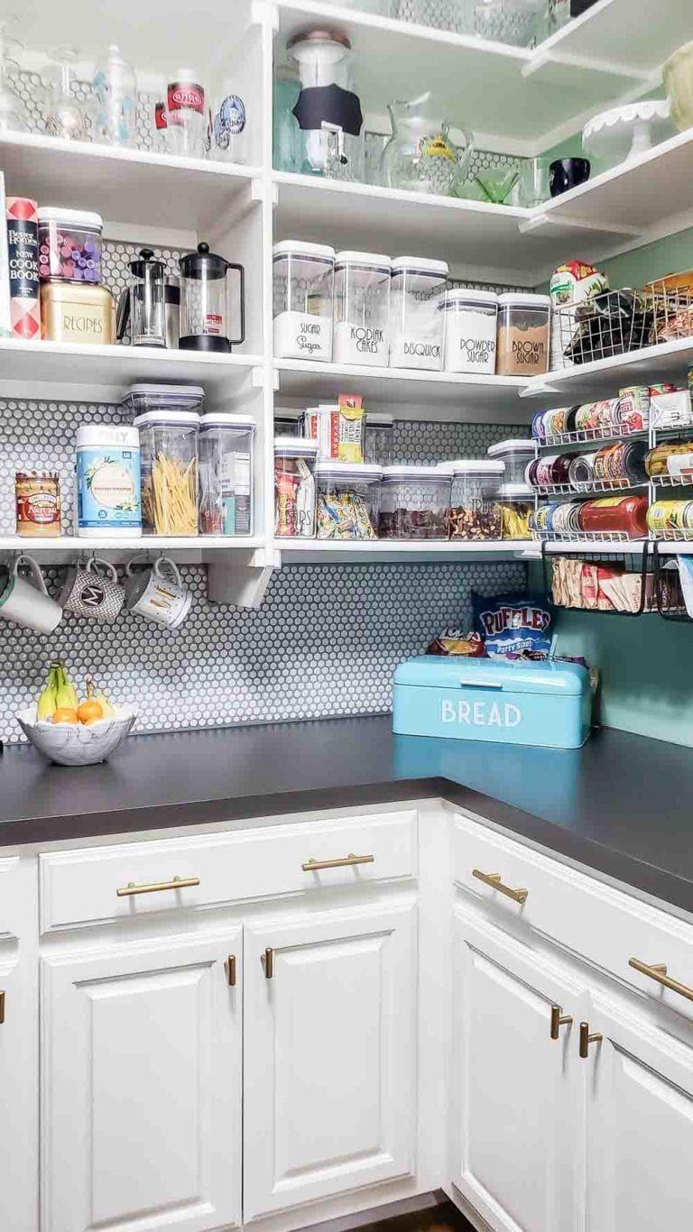 real life kitchen pantry organization update 2020 life kitchen kitchen organization on kitchen decor organization id=32360