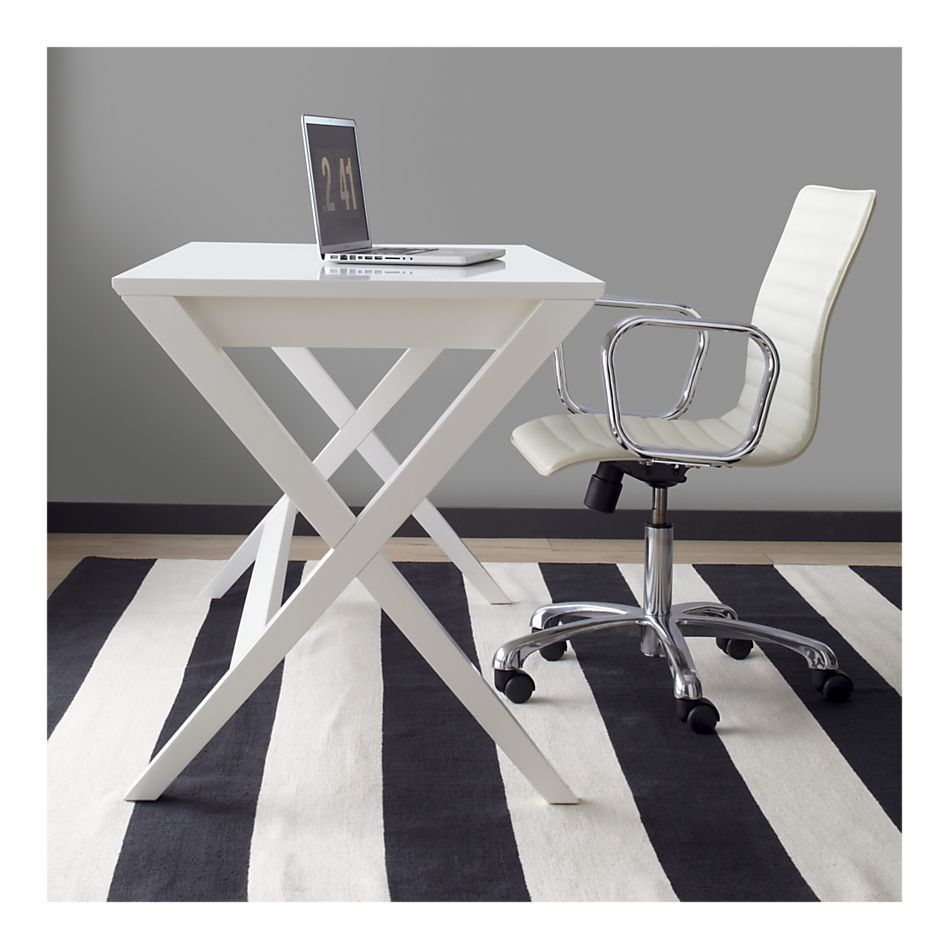 Home Office Large Clean Desk Double For Extra Table Space For