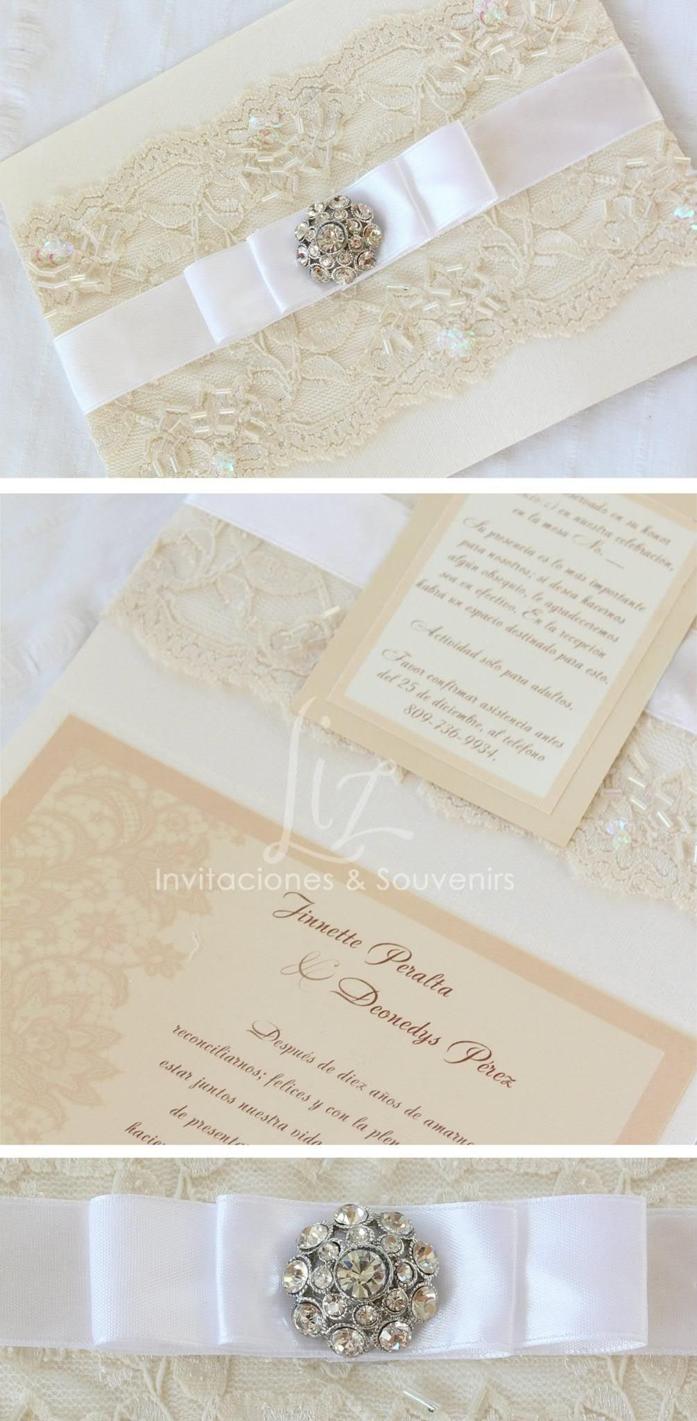 Vintage Invitación De Boda Wedding Invitation