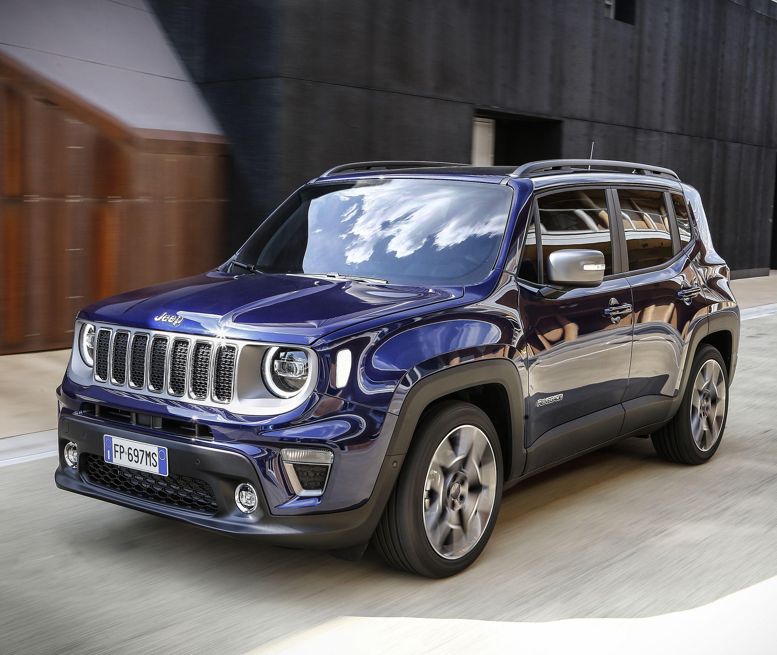 Verkaufsstart Fur Den Neuen Jeep Renegade Modelljahr 2019 Jeep Renegade Jeep Modell