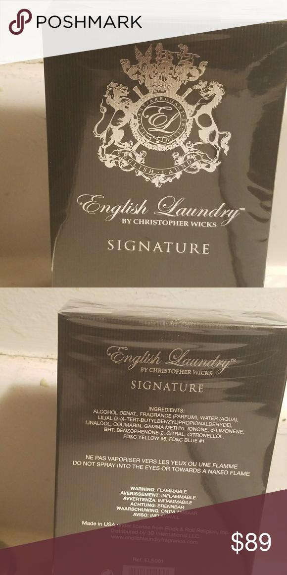 English Laundry Christopher Wicks Cologne English Laundry