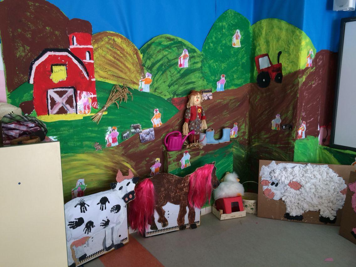 Decoración aula granja | animales | Pinterest | Granjas, Aula y La ...
