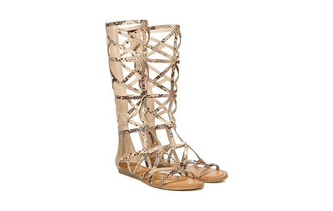 FERGALICIOUS Womens Graceful Tall Gladiator Sandal