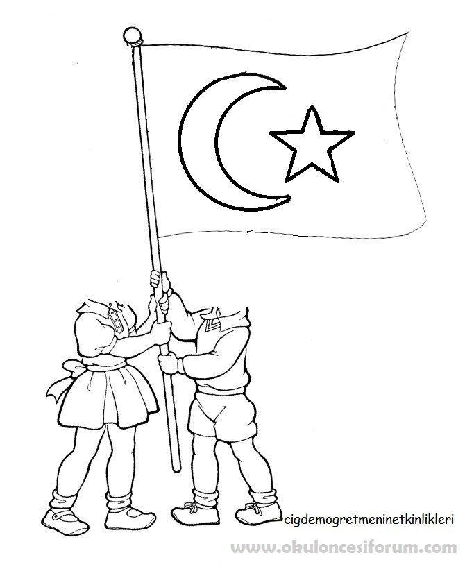 Atatürk Ve Sporcuları Boyama Sayfaları Sanat Ve Sanat Ve