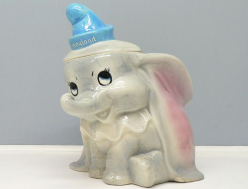 Disney Cookie Jars For Sale Hagen Renaker Rare Disney Dumbo Cookie Jar  Keep Hands Out Of The