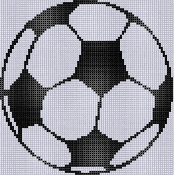 Soccer Ball Cross Stitch Pattern by MotherBeeDesigns on Etsy ...
