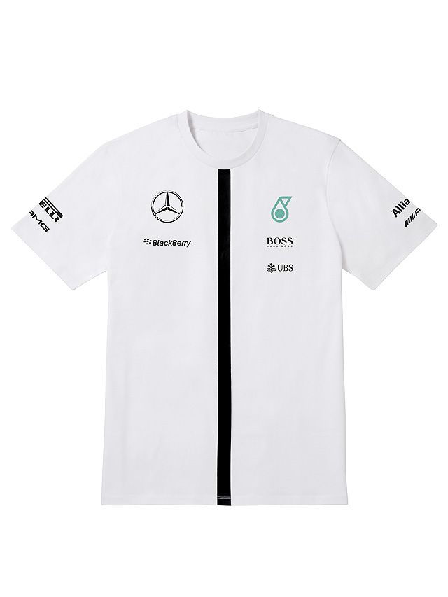 T shirt mercedes amg petronas team 2015 for Mercedes benz petronas