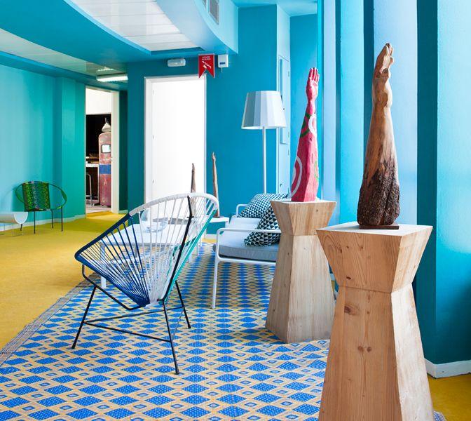 Distribuidor decorado por Leticia Peironcely y Luca Lapetra en Casa Decor Madrid 2013