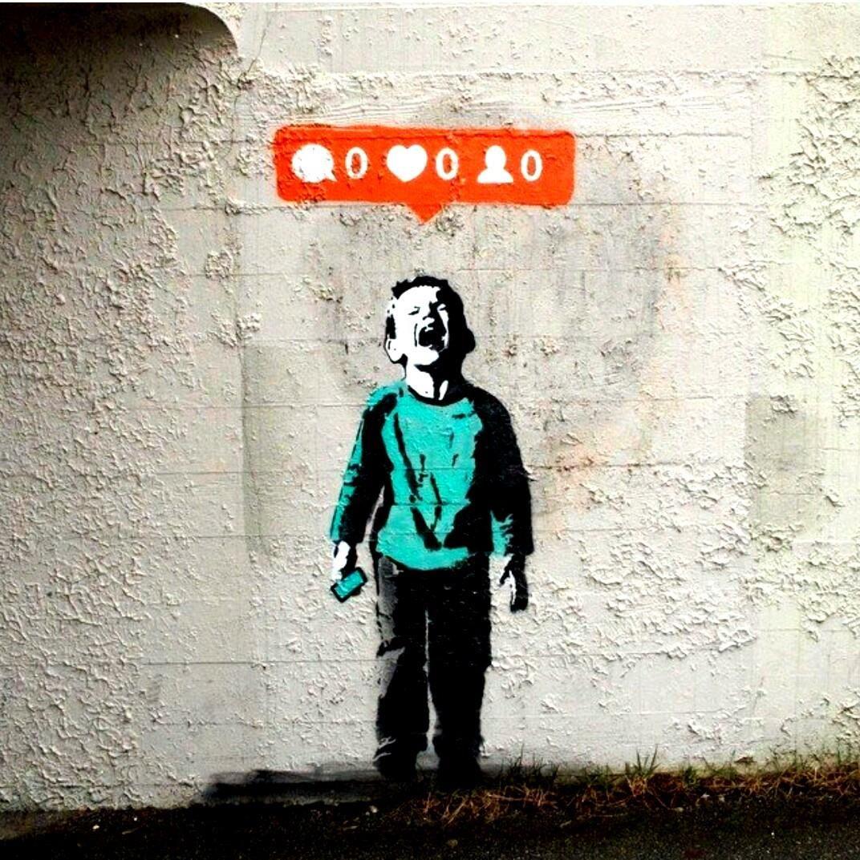 banksy nobody likes me, canada, street art | Straatkunst ...