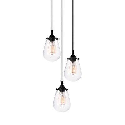 Lamson 3 light pendant pendants and lights trent austin design lamson 3 light pendant aloadofball Gallery