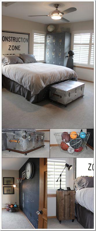 Teen boy room Kid\u0027s Room Pinterest Dormitorios niños - Decoracion De Recamaras Para Jovenes Hombres