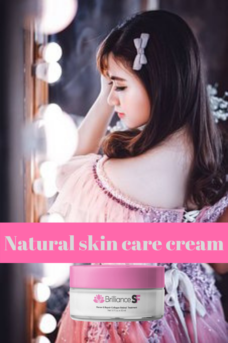 Natural skin care cream. First they are only thin lines, but with the passage of time they become wrinkles and spots.