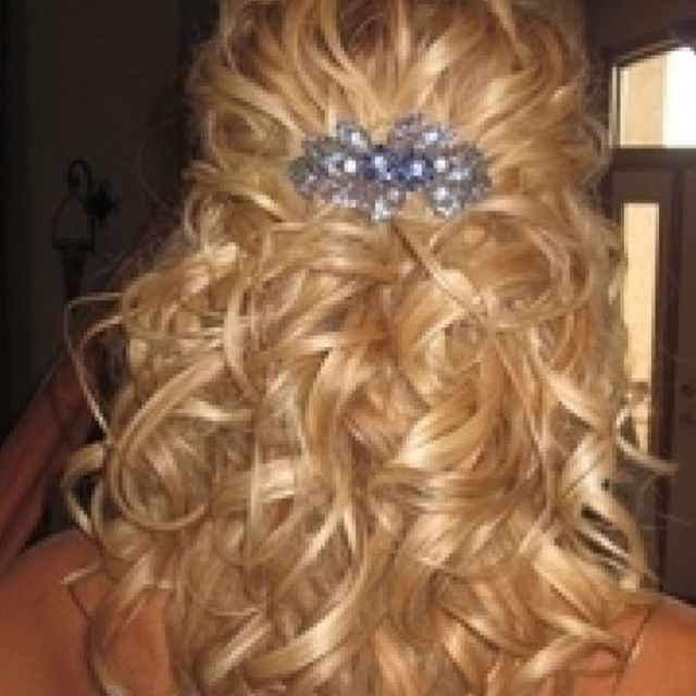 Best 25 Partial Updo Ideas On Pinterest Wedding