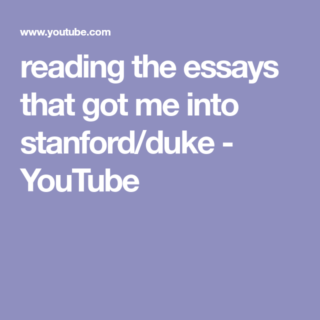 Example English Essay Reading The Essays That Got Me Into Stanfordduke  Youtube Research Paper Essay Topics also How To Write A Good English Essay Reading The Essays That Got Me Into Stanfordduke  Youtube  Study  Proposal Essay Sample