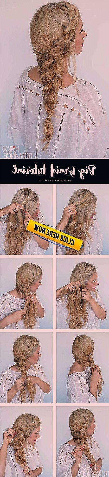 How to style a big side braid instant mermaid hair Chanel lipstick Giveaway: Ho  How to style a big side braid instant mermaid hair Chanel lipstick Giveaway: How to style a big side braid instant mermaid hair Chanel lipstick Giveaway: # side Braids pictures #sidebraidhairstyles