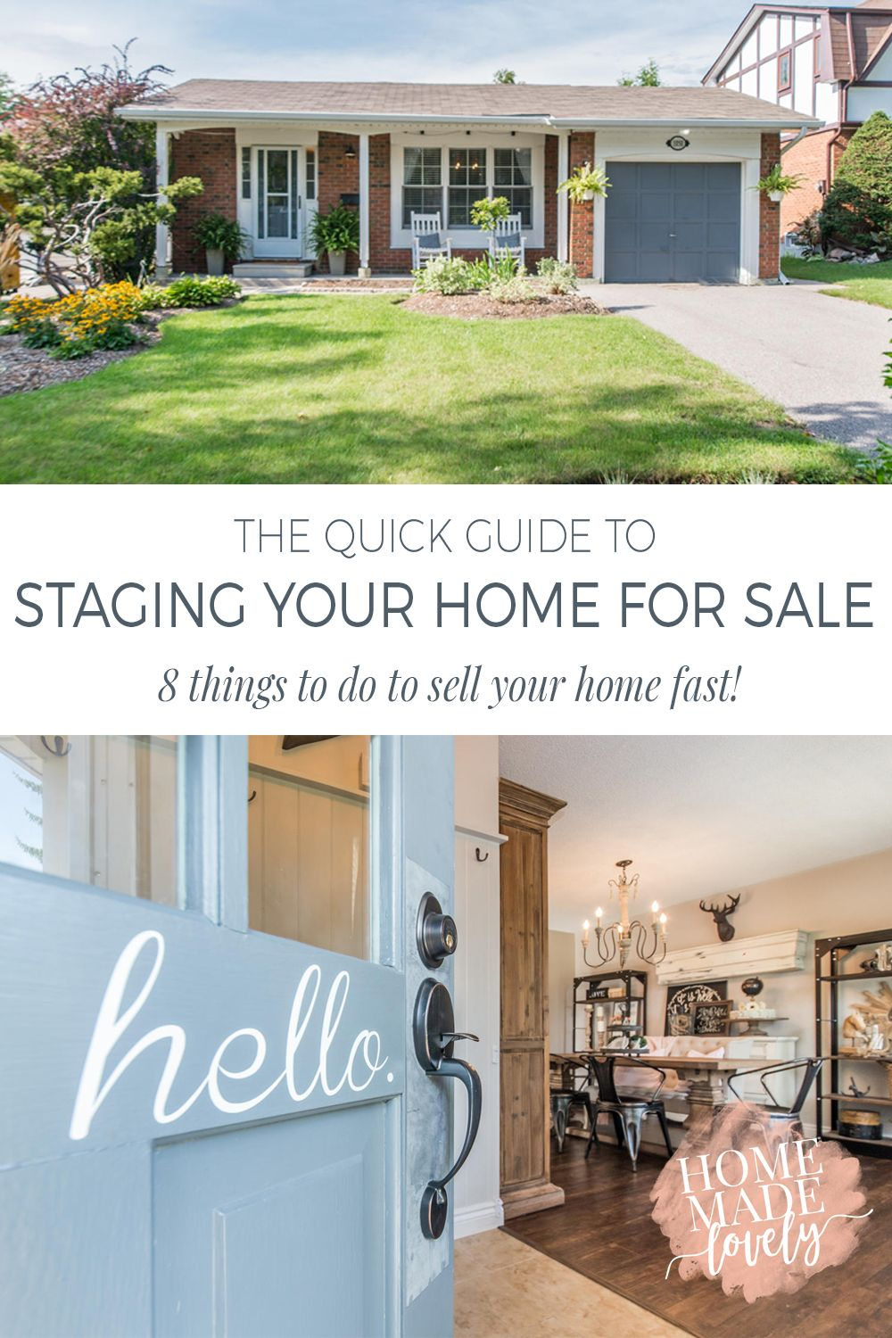 Do it yourself things to selling your home