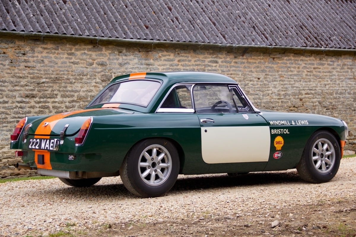 MORRIS GARAGES WORKS - MGB FIA Race Cars competed successfully in ...