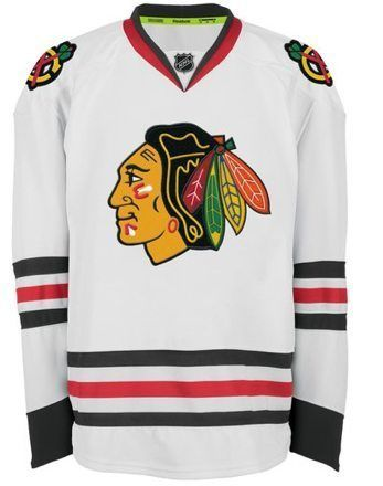 newest collection 1dfaa 459a5 REEBOK EDGE AUTHENTIC CHICAGO BLACKHAWKS ROAD JERSEY ...