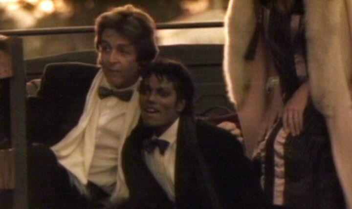 MJ 3 And Paul McCartney