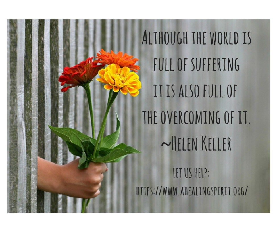 Don T Suffer Helen Keller Quotes Faith Quotes Quotable Quotes