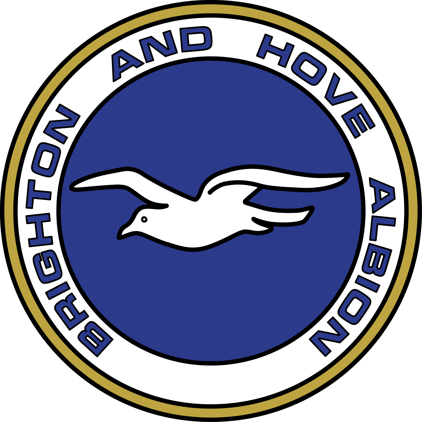 Image result for brighton and hove albion fc crests
