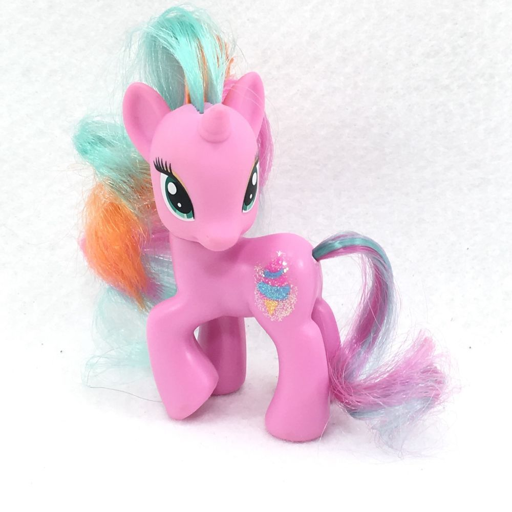 My Little Pony Mlp G4 Fim Htf Sweetie Swirl Pink Glitter Ice Cream 04 My Little Pony My Little Pony Friendship Pony