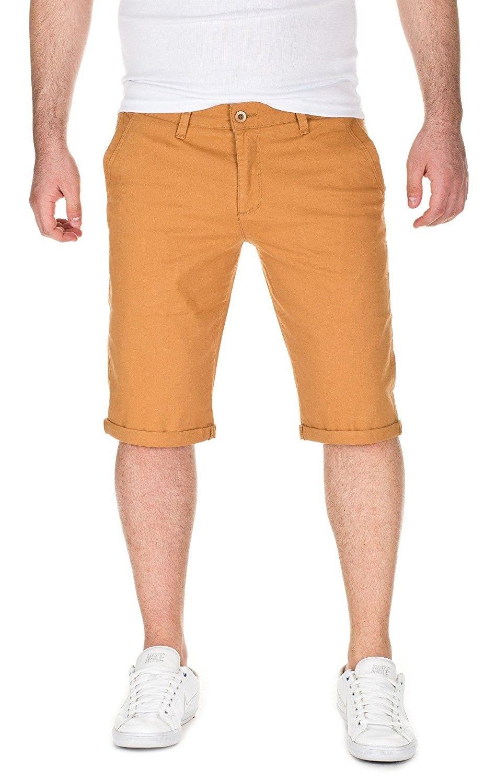 Mens Summer Chino Shorts Alex Slim Fit Mustard Gold 82295 C312fm1h67x Mens Clothing Styles Chino Shorts Shorts