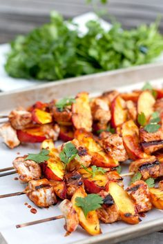 My favorite part about grilling is less mess in the kitchen. I love grilling season and these spiced pork and peaches on a stick is a grilled recipe that's perfect for summer. Pork tenderloin is cut into cubes and brushed in a sauce made of chipotle chiles and citrus juices. Skewered on a skewer with …