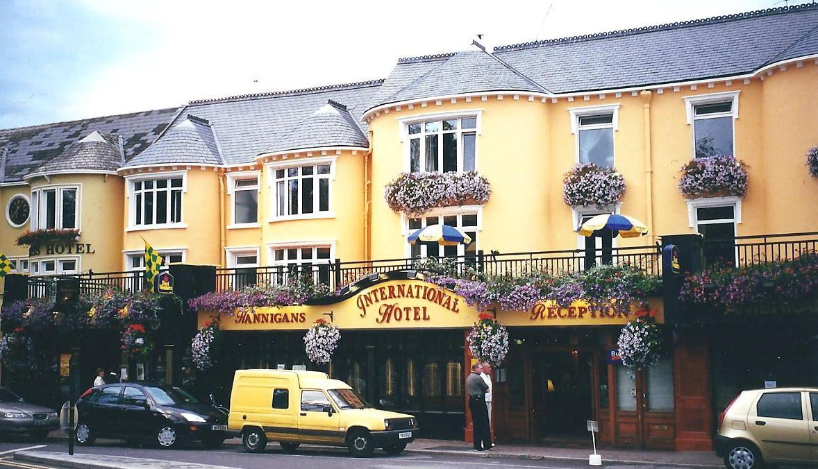 The International Hotel Killarney Ireland We Stayed Here On Our