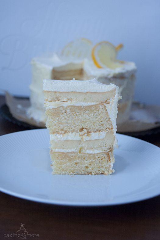 Zitronen Cheesecake Torte Mit Lemon Curd Essen