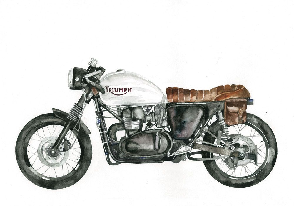 MOTORHEADS | by Claude Illustration | The Artist | Pinterest ...