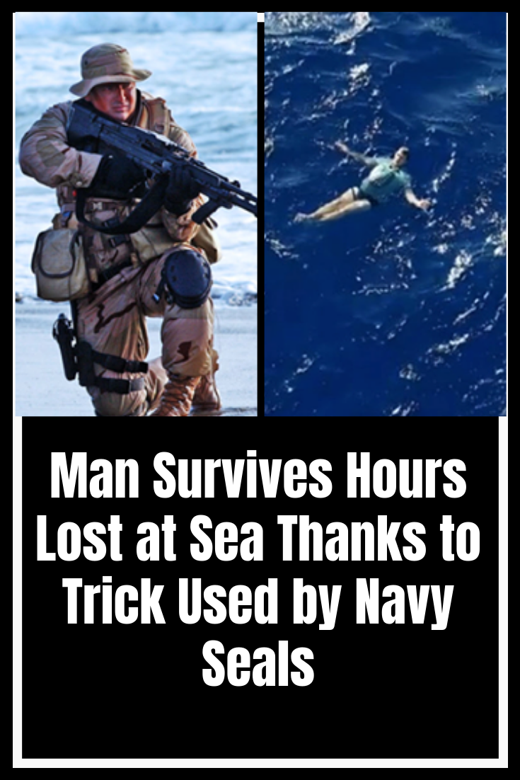 Man Survives Hours Lost At Sea Thanks To Trick Used By Navy Seals Fun Facts Navy Seals Funny Jokes