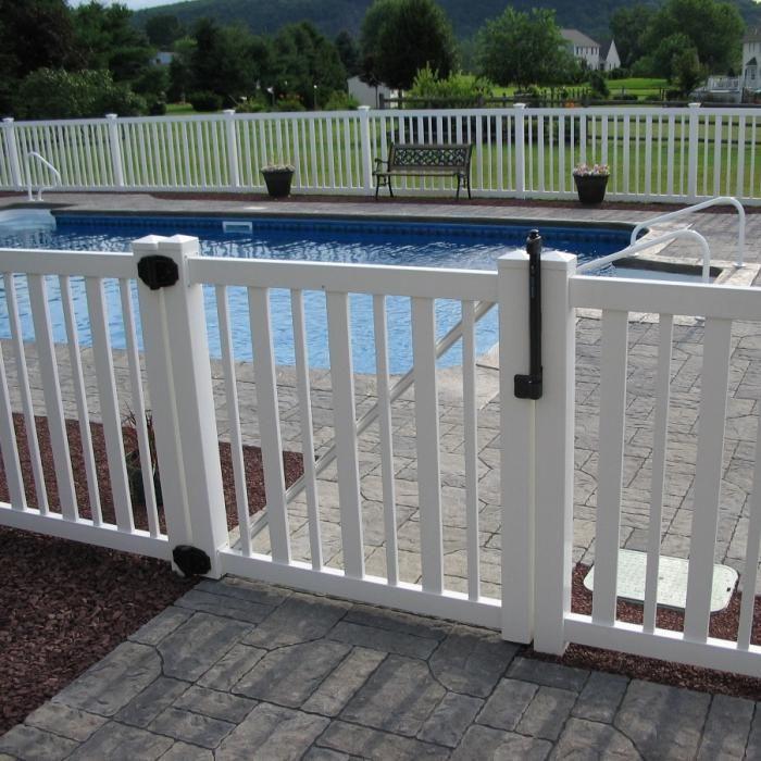 4 Atlantis Vinyl Pool Fence Aluminum Pool Fence Vinyl Pool Fence Around Pool